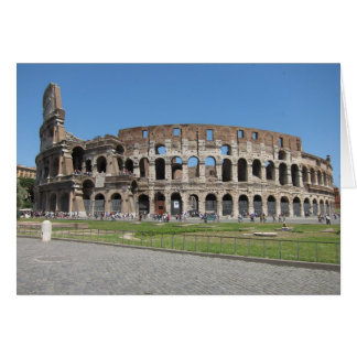 Colosseo in Rome Card