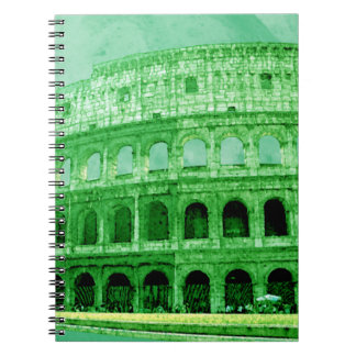 Colosseo Spiral Notebooks