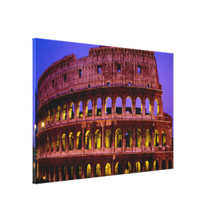 Colosseo (Rome) Canvas Print