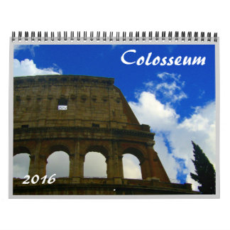 colosseum 2016 wall calendars