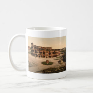 Colosseum and Meta Sudans Rome Italy Coffee Mug