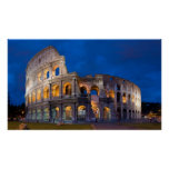 Colosseum at Dusk Print