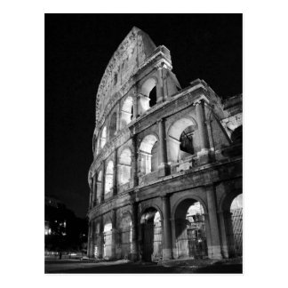Colosseum at Night Postcard