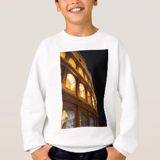 Colosseum at night sweatshirt