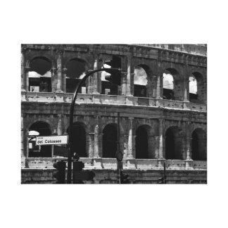 Colosseum Canvas from Rome, Italy - World Travel Canvas Print