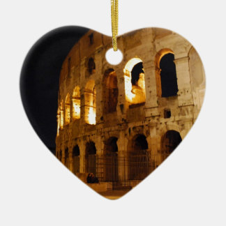 Colosseum Ceramic Heart Decoration