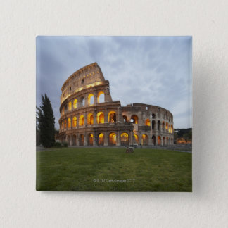 Colosseum in Rome, Italy 15 Cm Square Badge