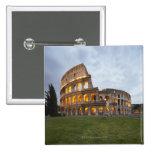 Colosseum in Rome, Italy 15 Cm Square Badge