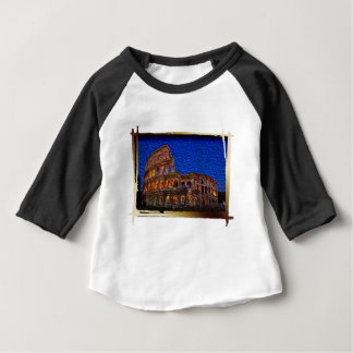 Colosseum in the night baby T-Shirt