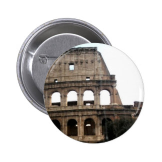 Colosseum Italian Travel Photo 6 Cm Round Badge