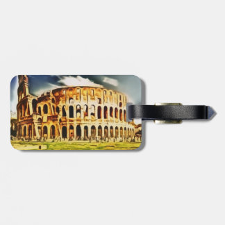 Colosseum, Italy Luggage Tag
