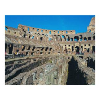 Colosseum, Rome 21.5 Cm X 28 Cm Flyer