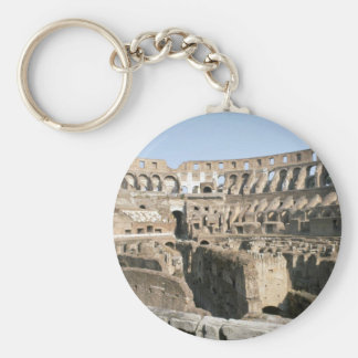 Colosseum, Rome Basic Round Button Key Ring