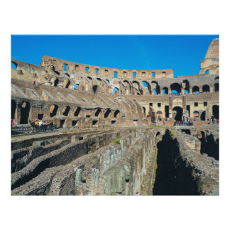 Colosseum, Rome Personalized Flyer