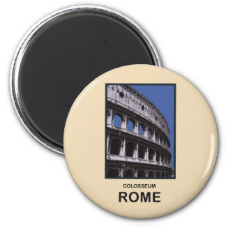 Colosseum Rome Italy 6 Cm Round Magnet
