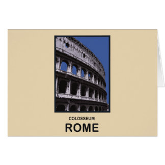 Colosseum Rome Italy Cards