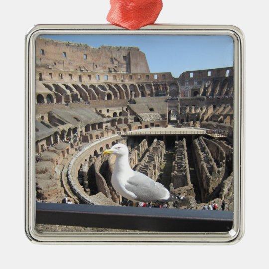Colosseum, Rome, Italy Christmas Ornament