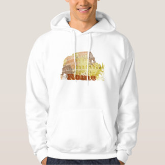 Colosseum Rome Italy Hoodie