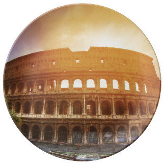 Colosseum, Rome, Italy Porcelain Plate