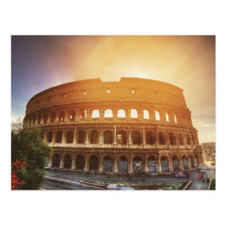 Colosseum, Rome, Italy Postcard