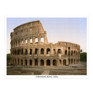 Colosseum Rome, Italy Postcard