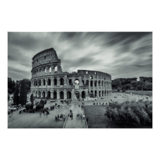 Colosseum. Rome, Italy. Poster