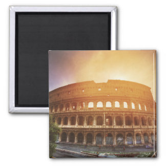 Colosseum, Rome, Italy Square Magnet