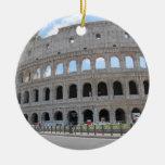Colosseum Rome On! Round Ceramic Decoration