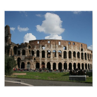 Colosseum Rome Poster
