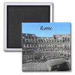 Colosseum- Rome Square Magnet