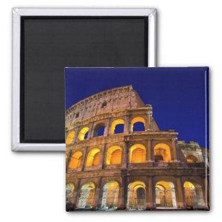 Colosseum Rome Square Magnet