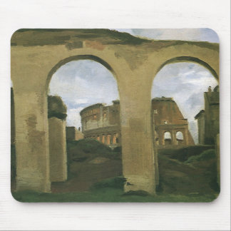 Colosseum Seen through the Arcades, Rome, Italy Mouse Pad