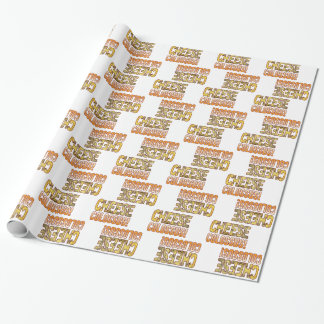 Colossus Blue Cheese Wrapping Paper