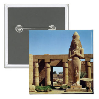 Colossus of Ramesses II: standing statue of 15 Cm Square Badge