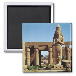 Colossus of Ramesses II: standing statue of Refrigerator Magnet