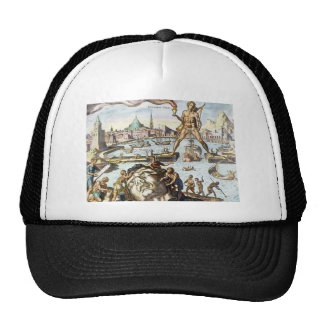 Colossus of Rhodes by Maerten van Heemskerck Cap