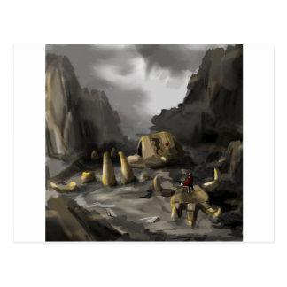 Colossus Postcard