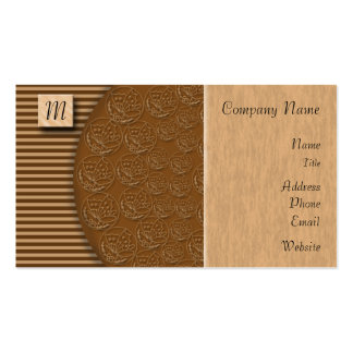 Colossus Wood Block Business Cards