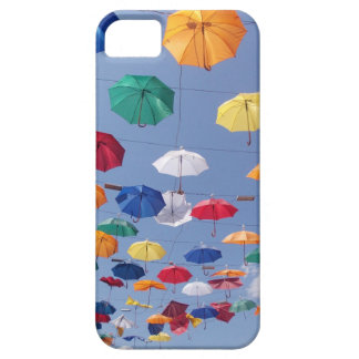 colouful umbrellas Antalya Turkey iPhone 5 Cases