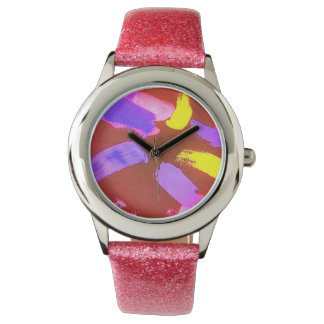 colouful watch and nice stap
