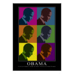 """""""Colour Blind"""" Obama Posters"""