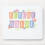 Colour Blocks Future Bride Mouse Pad