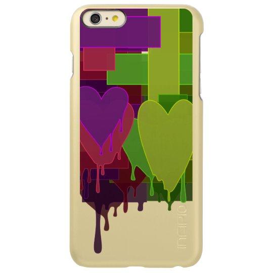 Colour Blocks Melting Hearts