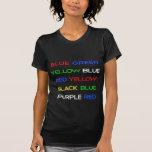 Colour Brain Teaser Tshirt