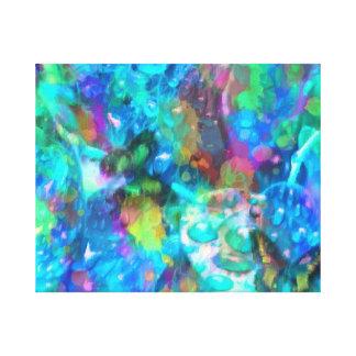 Colour Burst Canvas Print