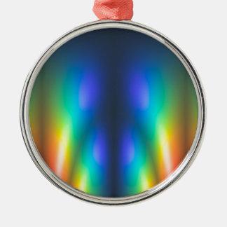Colour burst christmas ornament