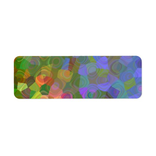 Colour Celebration Return Address Label