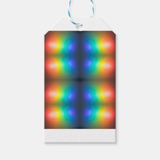 Colour Chaos abstract. Gift Tags