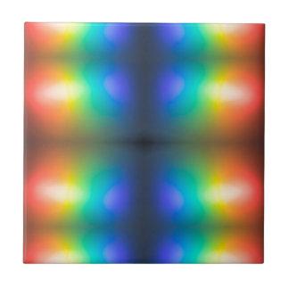 Colour Chaos abstract. Tile