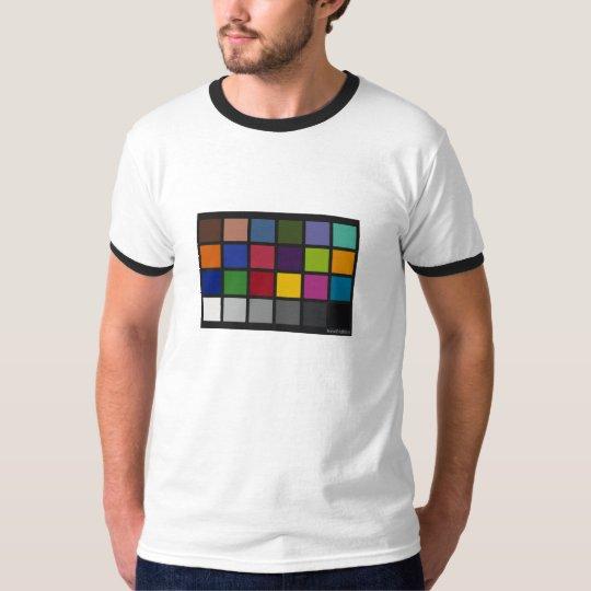 Colour Chart Ringer T-Shirt